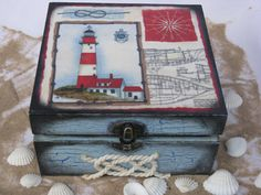 Seabrook Island jewellery/keepsake box by iLoveCreations on Etsy,