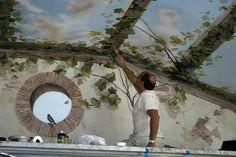 Vigini Paint and Design | Trompe l'oeil, mural, wallpainting