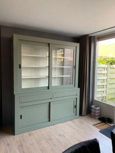 Tall Cabinet Storage, Locker Storage, Chill Room, Refurbished Furniture, China Cabinet, Closets, Sweet Home, New Homes, Interior Design