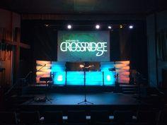 Warped Weave from Crossridge Church in Surrey, BC | Church Stage Design Ideas