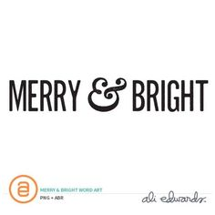 DAY 2 - Merry & Bright at Ali Edwards #AED12Days2016