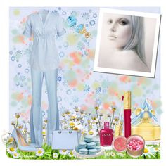 """""""The Colors: Placid Blue"""" by fiordiluna on Polyvore"""