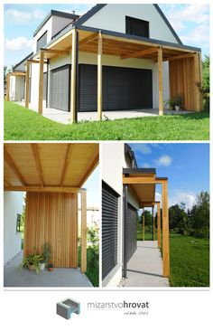 SIMPLICITY IS THE KEY - do you agree? More simple it is, more elegant it looks. With simple details your house can get a nice, sophisticated look. #housedesign #architecture #archidaily #simpledesign #pergolas #housearchitecture #home #surroundings #backyard