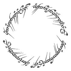 One Ring to rule them all tattoo. Originally wanted it around my wrist, now I want this around my thigh, think it'd be really nice placement.