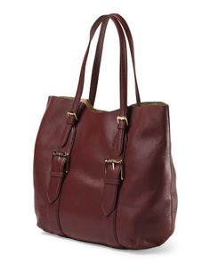Leather Lucille Kay Tote