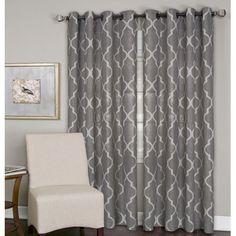 Found it at Wayfair - Medalia Single Window Curtain Panel