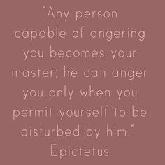 Anger - Epictetus
