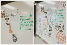I had to throw today's #miss5thswhiteboard together quickly, because I was…