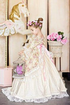 Imagine your flower girl in this gorgeous dress!!!