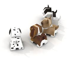 Blog_Paper_Toy_papertoys_puppies_pic2