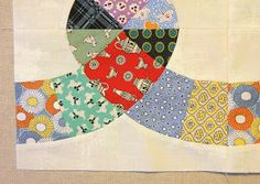 Ivan and Lucy: Chain Link Quilt - A Work in Progress!