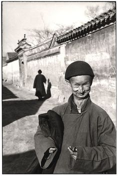Henri Cartier-Bresson, Eunuch of the imperial court of the last dynasty, Peking, 1949