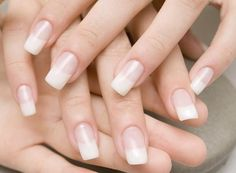 Here are home remedies for natural manicure at home. You can easily do natural manicure at home and get the glossy nails without much expenditure. Plain Acrylic Nails, Acrylic Nails Natural, Natural Manicure, Remove Acrylic Nails, Acrylic Nails At Home, Plain Nails, French Nails, French Acrylics, How To Do Nails