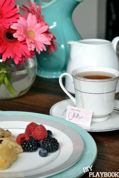 Mix and match #HomeGoods dishes for an affordable spring brunch! #sponsored #HappyByDesign