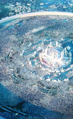 CyberClays — Faith: Alameen planet - by Leon Tukker More. Fantasy World Map, Fantasy Town, Fantasy Castle, Fantasy Places, Fantasy Concept Art, Dark Fantasy Art, Fantasy Artwork, Fantasy Art Landscapes, Fantasy Landscape