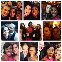 """Weekend #latergram with more of the love. #emmys"""