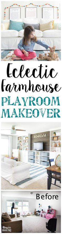 Eclectic Farmhouse P