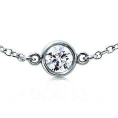 Tiffany & Co. Elsa Peretti® Diamonds by the Yard® necklace platinum
