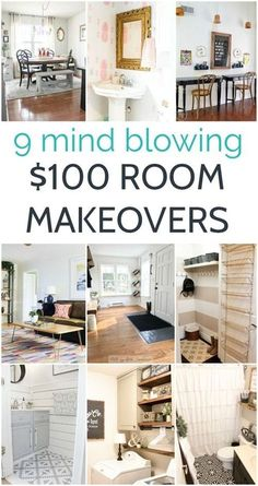 Looking for some gorgeous room makeovers on a budget? These rooms are full of gorgeous budget home decor and DIY projects and each room cost less than. - Apartment Decor - Home Renovation Diy Projects On A Budget, Home Projects, Weekend Projects, Diy Home Decor Rustic, Cheap Home Decor, Affordable Home Decor, Unique Home Decor, Home Decor Styles, Modern Decor