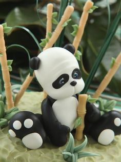 Panda en porcelana fría