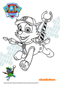 Paw Patrol Ausmalbilder Welpe Rocky Paw Patrol Rocky, Colouring Pages, Coloring Pages For Kids, Adult Coloring, Disney Princess Coloring Pages, Disney Princess Colors, Cumple Paw Patrol, Paw Patrol Coloring Pages, Pow