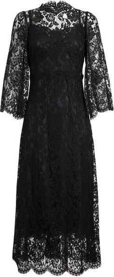 DOLCE AND GABBANA Floral Lace Dress