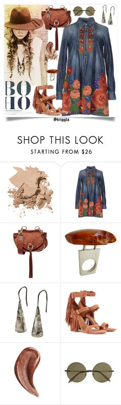 """Bohemian"" by striggla ❤ liked on Polyvore featuring Bobbi Brown Cosmetics, Dsquared2, See by Chloé, Heidi Abrahamson, Chloé, Gucci, Victoria Beckham, Bohemian, coachella and polyvoreeditorial"