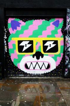 Malarko - street art london shoreditch - bricklane nov 2014