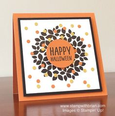 Wondrous Wreath, Sweet Hauntings, Stampin' Up!, Brian King, GDP004