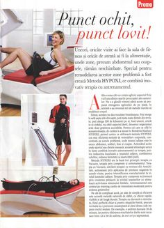 Viva, aprilie 2012 #Hypoxi #HealthySkin Healthy Skin, Gym Equipment, Fit, Sports, Shopping, Therapy, Hs Sports, Shape, Workout Equipment