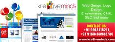 Web Design, Logo Design, E-commerce, CMS, SEO & Other service