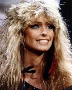 Never thought I'd see a picture of Farrah Fawcett I didn't like but here it is... WTF Hair!!