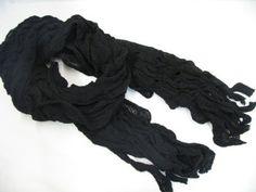 Black Crinkled Scarf £8.50 www.lyliarose.com *Free UK delivery*