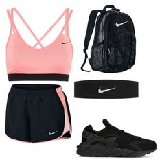 """""""™"""" by quezg1 ❤ liked on Polyvore featuring NIKE"""