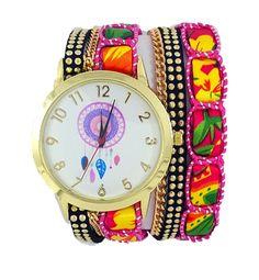 1584c67438ab Reloj De Moda Nuevo Estilo Vintage Atrapasueños Dama Mayoreo -   79.00.  Relojes ...