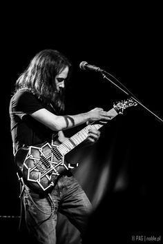 Mike Abdow with Fates Warning - concert in Krakow, Poland, Nov 2014