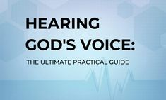 Hearing God's voice: The Ultimate Practical Guide Childlike Faith, The Gift Of Prophecy, Step Workout, Psalm 23, Gods Promises, Good Good Father, Jesus Quotes, Christian Life, The Voice