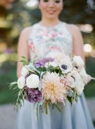 Romantic Fall Wedding at Lyndale Park Peace Garden - Style Me Pretty