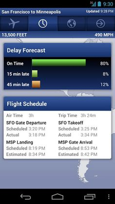 Get Flight Updates Faster Than The Airports Flight Schedule, International Flights, Android Apps, Airports