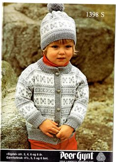 Sigdal 1398 S Baby Knitting, Crochet Baby, Knit Crochet, Baby Barn, Baby Knits, Grandchildren, Sweaters, Vintage, Groomsmen
