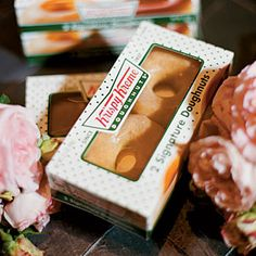 Krispy Kreme truck delivered boxes of doughnuts at the end of the night. Doughnut Cake, Midnight Snacks, Trendy Wedding, Wedding Ideas, Elegant Wedding, Wedding Inspiration, Krispy Kreme, Cream Wedding, Dessert Buffet