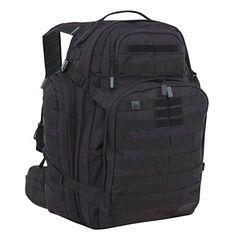 Amazon.com : SOG Barrage Tactical Internal Frame Pack Backpack (Black, X-Large) : Sports & Outdoors