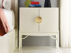 Melrose Bedside Cabinet by Malibu Loft #bedroomfurniture #painted #nightstand