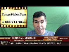 Illinois Fighting Illini vs. Missouri Tigers Pick Prediction College Bas...