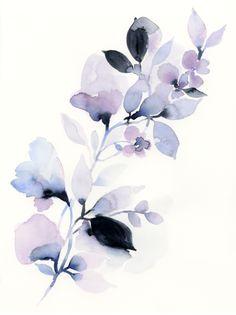 Series 1 Floral no.8 Original Art