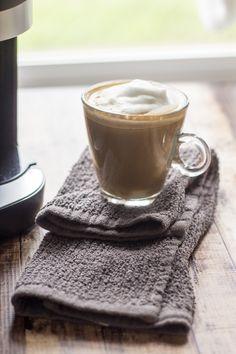 Cinnamon Brown Sugar Latte - made with my @Keurig Rivo! #AtHomeBarista