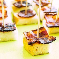Pear and Bacon Bites #TheClothesMakeTheGirl