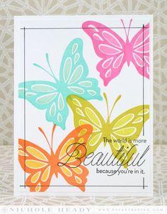 5/14/2014; Nichole on her blog; Life is Beautiful stamp set; INK: True Black, Orange Zest, Summer Sunrise, Simply Chartreuse, Limeade Ice, Hawaiian Shores, Aqua Mist, Raspberry Fizz, Hibiscus Burst