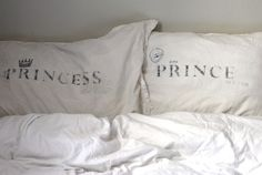:) This would work for me because my name means princess and my husband's name means prince!