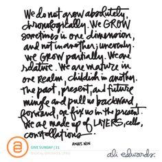 Give Sunday | 31 at Ali Edwards